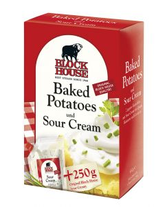 Block House Baked Potatoes mit Sour Cream 650 g