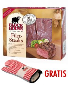 Block House Filet Frischfleisch ca. 1,02 kg