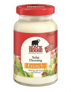 Block House Salat Dressing French, Glas 250 ml
