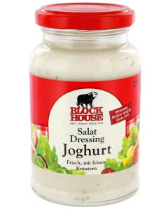 Block House Salat Dressing Joghurt, Glas 250 ml