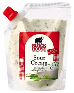 Block House Sour Cream, Standbeutel 250 g