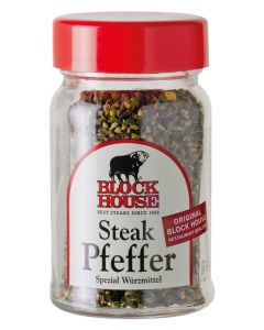 Aktion: Block House Steak Pfeffer, Glas 50 g